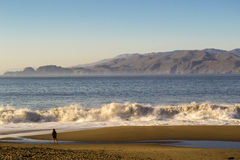 Baker Beach in San Francisco Royalty Free Stock Photography