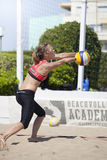 Baker. Beach Volleyball Tournament women. Location: Ostia, Rome. Italy Royalty Free Stock Photos
