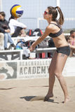 Baker. Beach Volleyball Tournament women. Location: Ostia, Rome. Italy Stock Images