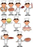 Baker boy Stock Images