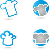Baker, cuisinier, logo Image libre de droits