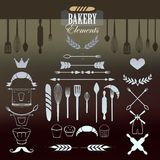Baker Elements for your design. Stock Photos