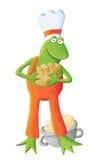 Baker frog Stock Image