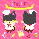 Baker kat Stock Foto's