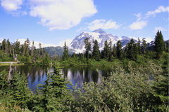 Baker Lake Royalty Free Stock Images