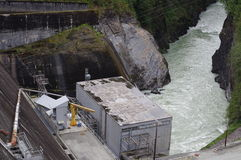 Baker Lake Powerplant Stock Image