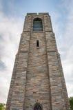 Baker Park Memorial Carillon Klokketoren - Frederick, Maryland Royalty-vrije Stock Afbeelding