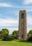 Baker Park Memorial Carillon Klokketoren - Frederick, Maryland Stock Afbeelding