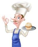 Baker Perfect Sign de gâteau Image libre de droits