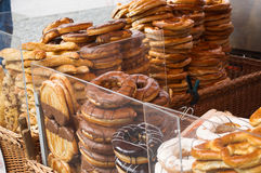 Baker`s. Is on a market, in Germany Royalty Free Stock Photography