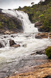Baker's Falls. A waterfall in Sri Lanka Royalty Free Stock Photos
