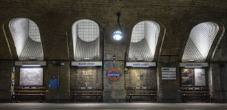 Baker Street Tube Stock Photos