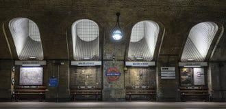 Baker Street Tube Stock Photos