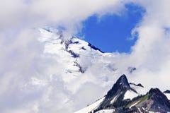 Baker Under Clouds de bâti d'artiste Point Washington State Image libre de droits