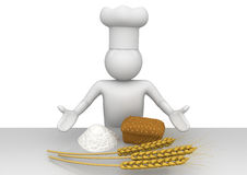 Baker - Workers Royalty Free Stock Photo