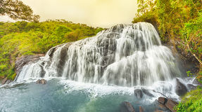 Bakers falls. Panorama Royalty Free Stock Images