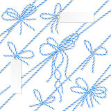 Bakers twine bows, ribbons and labels Royalty Free Stock Photography