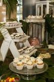 bakersfield Запас булочек покрытых с сливк стоковая фотография