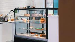 bakersfield Окно магазина вполне помадок и десертов стоковое фото rf