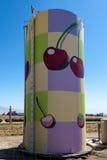 BAKERSFIELD, CALIFORNIA/USA - 3 AOÛT : L'eau brillamment peinte photographie stock libre de droits