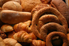 Bakery. Display of bakery products Royalty Free Stock Image