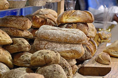 Bakery. Some bred in a bakery shop stock images