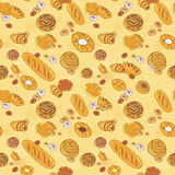 Bakery background Stock Image