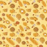 Bakery background royalty free illustration