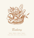 Bakery background 2 Stock Images