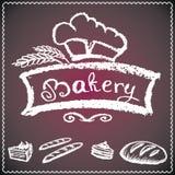 Bakery background, Royalty Free Stock Images