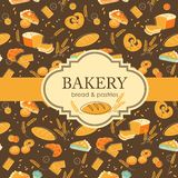 Bakery background Royalty Free Stock Photo