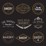 Bakery Badge Design Elements Royalty Free Stock Photo