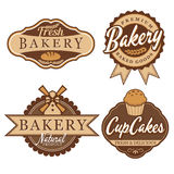 Bakery Badge & Labels Stock Photo