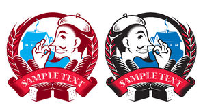 Bakery Badges Stock Photos