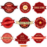 Bakery Badges Royalty Free Stock Image