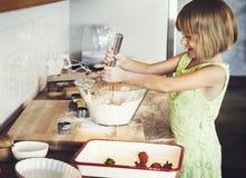 Bakery Bake Child Children Childhood Learning Concept Stock Photos