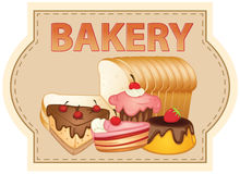 Bakery royalty free illustration