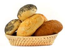 Bakery basket Stock Photography