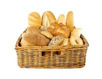 Bakery basket Royalty Free Stock Images