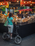 Bakery on Borough market Royalty Free Stock Photography