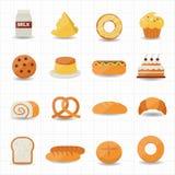 Bakery and Bread Icon Royalty Free Stock Photos