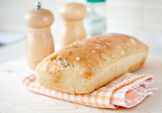 Bakery bread natural food breakfast Royalty Free Stock Photos