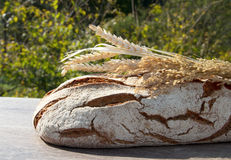 Bakery Bread and Sheaf Stock Photos