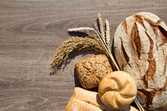 Bakery Bread and Sheaf Stock Image
