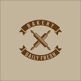 Bakery bread vintage retro badges labels Royalty Free Stock Photo