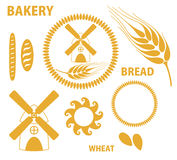 Bakery. Bread. Wheat. Stock Photos