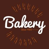 Bakery Brown Background 1980 Vector Royalty Free Stock Photos