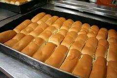 Bakery buns Stock Photo