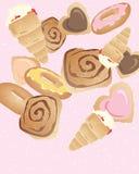 Bakery buns Royalty Free Stock Photo