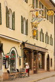 Bakery and Cake shop. Berchtesgaden. Germany royalty free stock image